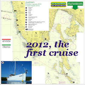 2012, Cruise Map